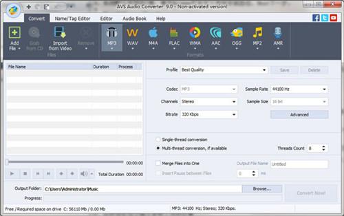 AVS Audio Converter软件功能