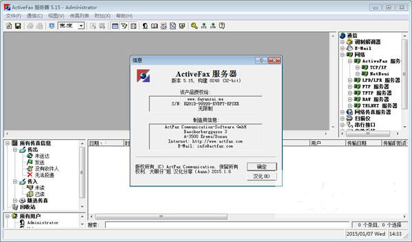 ActiveFax Server特色
