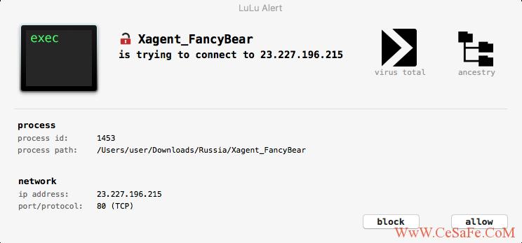 一款免费的开源macOS防火墙(LuLu)
