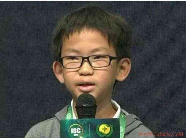 全世界最年轻的黑客,中国只有一人上了排行榜(还记得那次乌云峰会吗?)