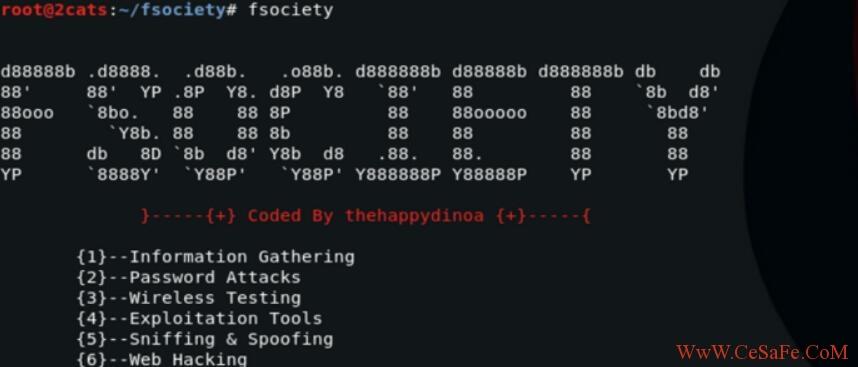 2018最新款渗透测试框架【黑客工具包】