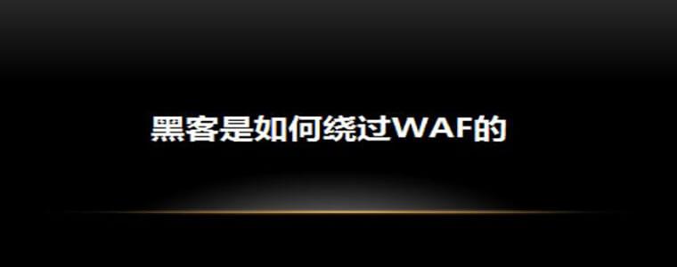 WAF Bypass实战系列教程PDF
