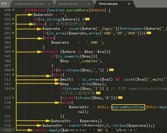 代码审计 ThinkPHP3.2.x框架SQL注⼊