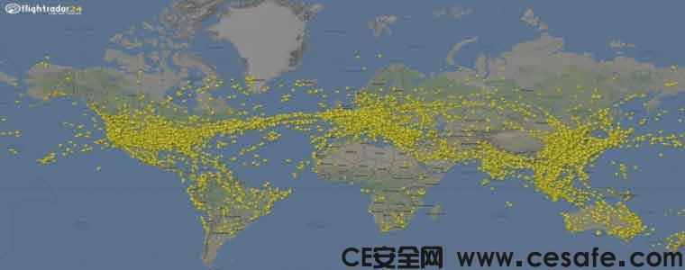 Flight Tracker Flightradar24遭遇数据泄密事件