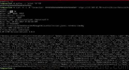 HP iLO 4 服务器发现严重漏洞可绕过身份验证漏洞 含Poc验证