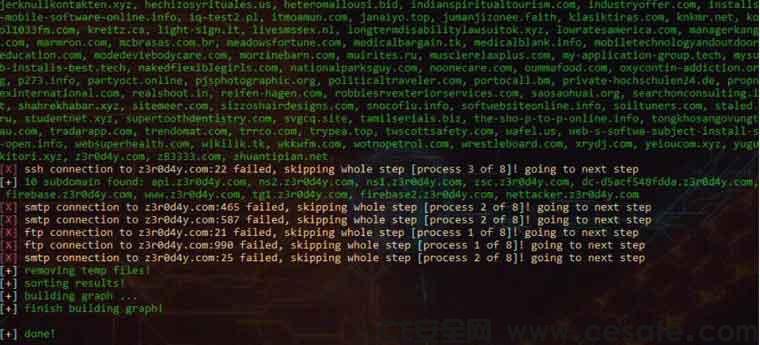 OWASP Nettacker 自动化信息搜集渗透测试工具