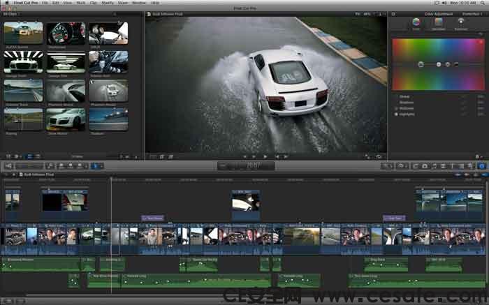 Apple Final Cut Pro X 10.4.3 For Mac 影视后期制作软件