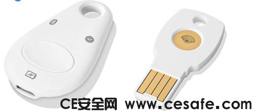 Titan Security Keys 谷歌宣布推出基于USB的FIDO U2F密钥