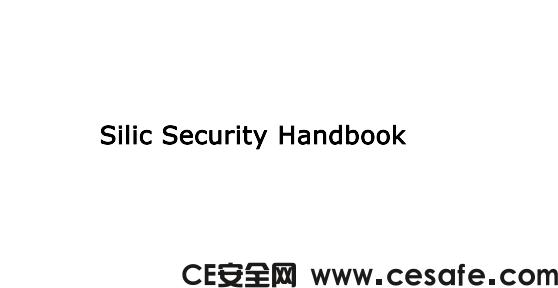 《Silic Security Handbook》网络安全黑客PDF电子书