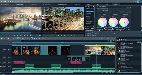 视频编辑软件_MAGIX Video Pro X11(非线性视频剪辑软件) v1正式版