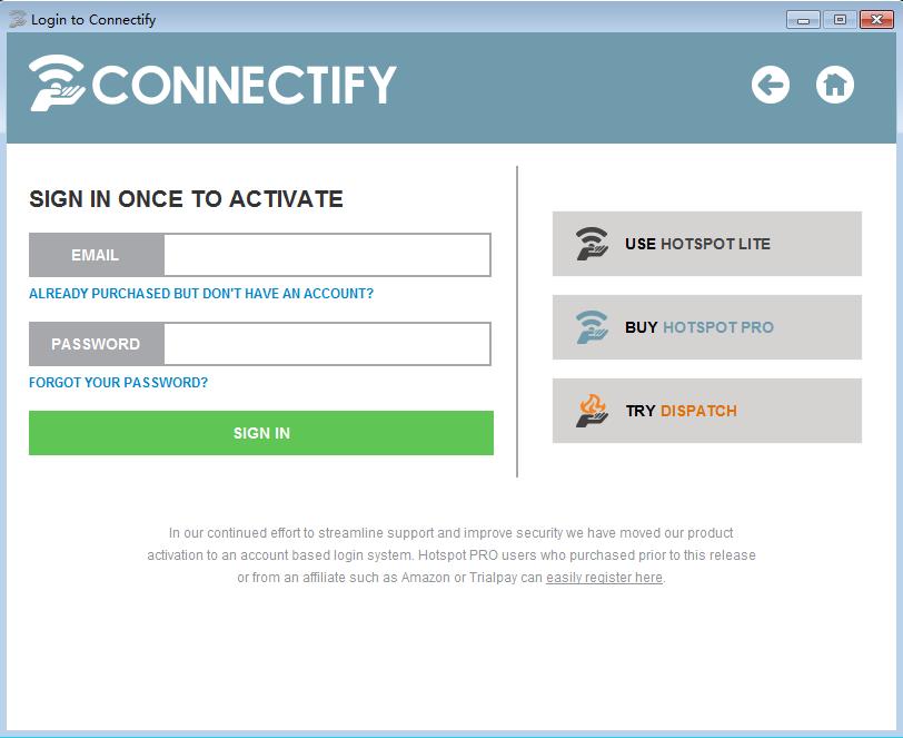 Connectify V5.37325 中文版| Connectify使用方法