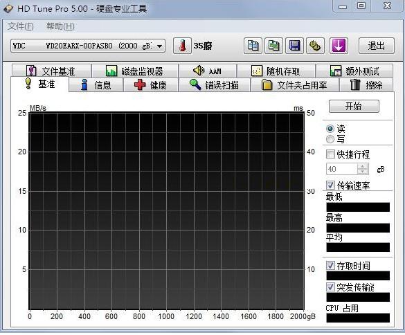 硬盘检测工具下载|HD Tune pro V5.7 中文版