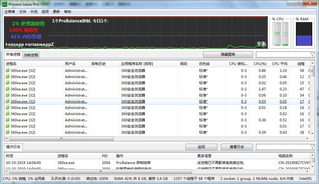 系统进程优化工具下载|Process Lasso Pro v9.3.0.74免费下载